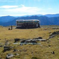 (Español) Excursión por la Ruta de los Miradores de Ordesa en autobús (Nerín, Huesca, España)