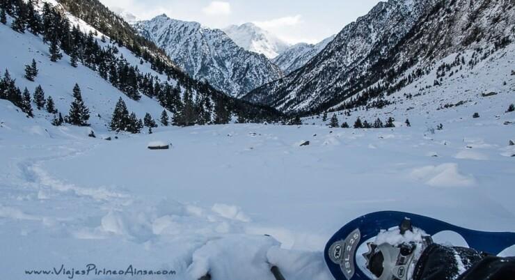Circuito Fin de Año Raquetas de nieve en el Valle de Benasque -5 días- Salida 30 diciembre 2020