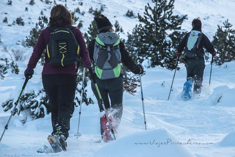 Circuito Raquetas de nieve en el Valle de Benasque -5 días- Salida 31 marzo 2021, Semana Santa