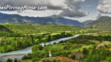 Ruta de senderismo: Río Ara, el último río salvaje del Pirineo y paseo a caballo (Escalona, Huesca, España)