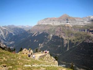 Excursión por la Ruta de los Miradores de Ordesa en autobús (Nerín, Huesca, España)